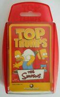 THE SIMPSONS - jeu de société cartes TOP TRUMPS spécials 2008 édition FR