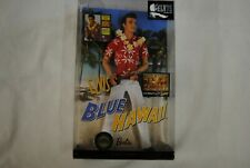 ELVIS PRESLEY BLUE HAWAII BARBIE COLLECTOR PINK LABEL DOLL NEW BOXED 75TH B/DAY