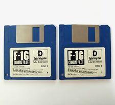 F16 COMBAT PILOT jeu / original game for ATARI ST / STF / STE / MEGA / FALCON