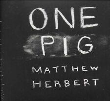 Matthew Herbert - One Pig - 2011 - Digipak CD - NEW - SEALED - UK FREEPOST