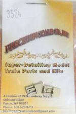 Precision Scale HO #3524 Coupler Pocket, Ling, Use w/Kadee Couplers (Brass)
