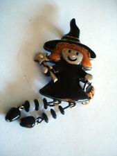 BROCHE FEE ENFANT FETE HALLOWEEN * Collection Privée * FAIRY CHILD
