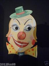maschere carnevale anni 60 clown clowns karnevalsmasken carnival masks 60 years