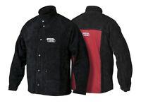 Lincoln K2989-M Heavy Duty Leather Welding Jacket Size 40-42 Medium