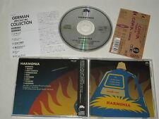 HARMONIA/HARMONIA(BRAIN POCP-2387) JAPAN CD + OBI
