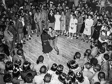 Jitterbugging Jam Circle at Ft. Bragg Social Event, 1942