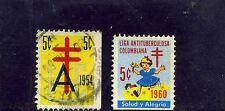LIGA ANTITUBERCULOSA  ,- ''L A C''    >>2<<   COLOMBIA.    1954/60