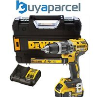 Dewalt DCD796P1 18v XR Brushless Compact Combi Hammer Drill - 1 x 5.0ah Battery