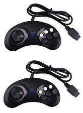 MM® 2x 6 Button Controller Pad Gamepad For Sega Mega Drive Genesis Master System