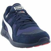 Puma Rs-100 Racing Flag Lace Up  Mens  Sneakers Shoes Casual   - Blue