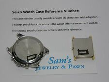 Seiko Velatura Yachting Timer Watch Band SPC005 SPC005P1 SPC007 SPC007P1 #35R6ZB