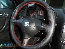 Alfa Romeo Gt Couvercle Du Volant en Cuir Noir Perforé