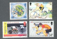 Cycling-Isle of Man collection 4 mnh values
