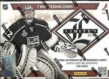2012-13 Panini Limited Factory Sealed Hockey Hobby Box  Gordie Howe AUTO??