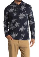 NAUTICA Men's Palm Tree Print Pullover Hoodie, Navy, XL - ($49.50)