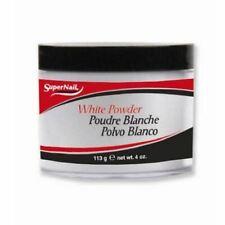 Supernail Acrylic Nail Powder - White 4oz #51425