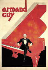 Type AD DECO Armand Guy Piano Poster Print