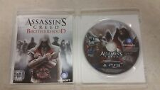 ASSASSINS CREED BROTHERHOOD PLAYSTATION 3 PS3 GAME COMPLETE ASSASSIN'S FR SHIP!!