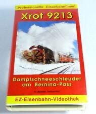 Ez Eisenbahn-Videothek 1 Xrot 9213 Dampfschneeschleuder en la Bernina-Pass