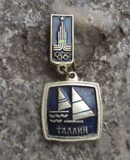 1980 Soviet Union Summer Olympic Games Medal Style Sailing Yachting Pin Badge
