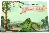 ".c1940s / 1950s COLOUR FOLDOUT UNUSED ""SOUVENIR OF BEAUTIFUL BALLARAT"""