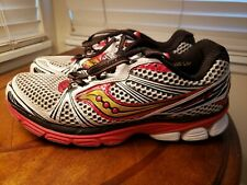 SAUCONY GUIDE 5 Men's 20140-1 White red black Running Athletic Shoes Size 9