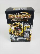 SDCC Comic-Con 2012 Monsuno Gold Exclusive Figure/Card 1 of 5000 NEW JAKKS