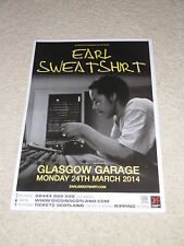 Earl Sweatshirt POSTER march 2014 live music show concert gig tour poster