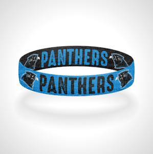 Reversible Carolina Panthers Bracelet Wristband Keep Pounding