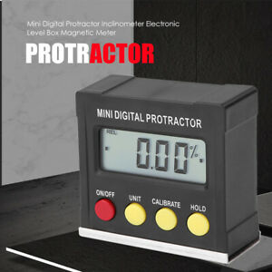 Digital Protractor 360° Miter Saw Angle Finder for Woodworking Home Decorating