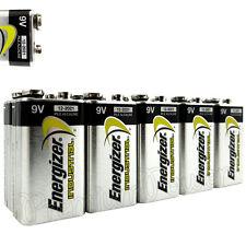 10 x Energizer 9V batteries Industrial 6LR61 Block PP3 6LP3146 MN1604 EXP:2021