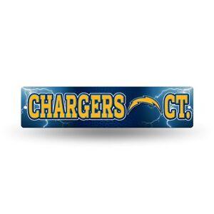 """Los Angeles Chargers Football 16"""" Street Sign Fan Wall Decor"""