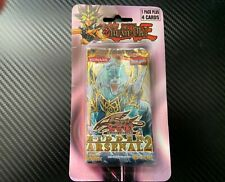 YuGiOh Hidden Arsenal 2 Blistered Retail Booster Pack - (RARE)(Collector's Item)