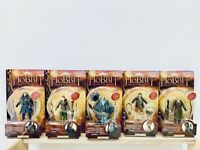 "NEW Hobbit 6"" Collector Figure: Gandalf Thorin Bilbo Legolas Tauriel SET OF 5"