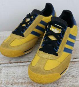Adidas Originals SL76 Montreal 2003 Yellow & Blue Vintage Look UK4 EU36.5 Rare!
