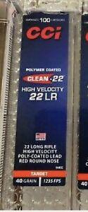 100 CCI Mini Mag 22 Long Rifle Ammo EMPTY Box Case Storage Container