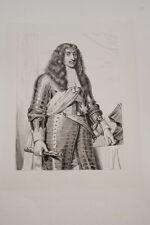 Portrait-Duc de CHOISEUL-CESAR COMTE DE PLESSIS PRASLIN-GRAVURE ACIER-VERSAILLES