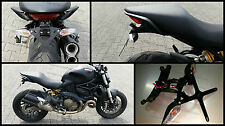 Portatarga Regolabile Ducati Monster 821 e 1200