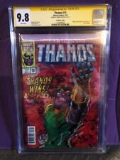 THANOS #13 CGC SS NM/MT(9.8) SIGNED BY DONNY CATES ~ MSH :SECRET WARS #12 HOMAGE