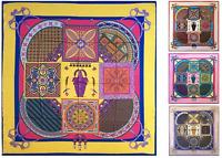 Womens Large Silk Square Scarf Satin Headscarf Hijab Bandana Kerchief Neck Shawl