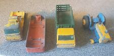 Matchbox Ford Tractor, Husky Cement Truck, Stake Truck +1 - spares or repair