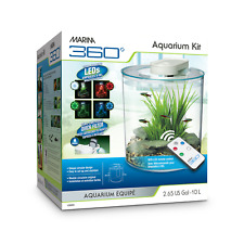 Marina 360 Aquarium 10L LED with Remote Control