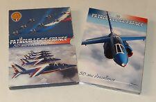 Coffret 2 Dvd La PATROUILLE de FRANCE : 50 ans d'excellence