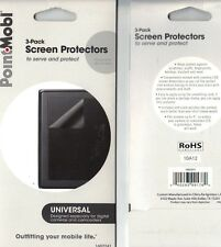 "Point Mobl 4"" Universal Digital Camera Camcorder Screen Protectors Pack of 3"