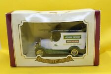 Oxford Diecast Morris Bull Nose Van with John West Pink Salmon decals