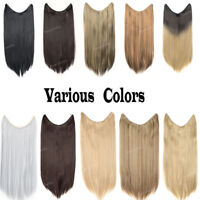 Hidden Secret Headband Wire No Clip in Thick Hair Extensions Hairpiece as Human