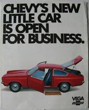 CHEVROLET Vega Car Sales Brochure 1975 USA #1102