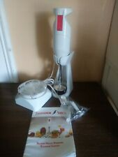 Reliant Thunderstick Pro Blender Mixer w/ Attachments and manual