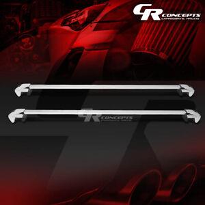 "50""BILLET ROOF RACK CAR/SUV TOP CLAMP-ON CROSSBAR LUGGAGE/BAG CARGO RAIL+LOCK"