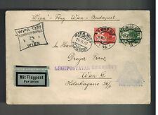 1933 Vienna Austria Wipa Airmail Cover